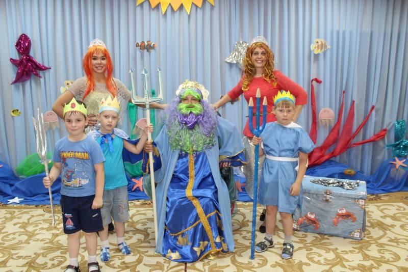 Костюм ко дню нептуна для детей своими руками 295