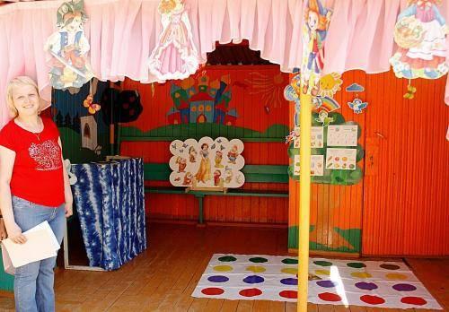 Фото оформление веранды в детском саду фото
