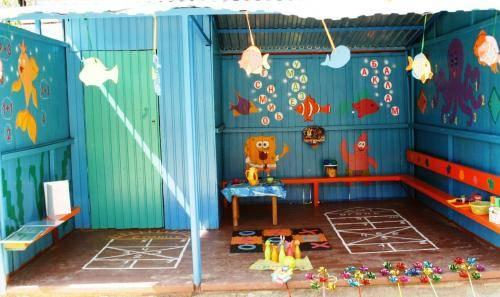 Как украсить детскую веранду своими руками в детском саду